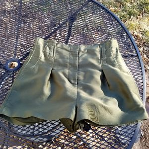 3.1 Phillip Lim high waisted army green shorts